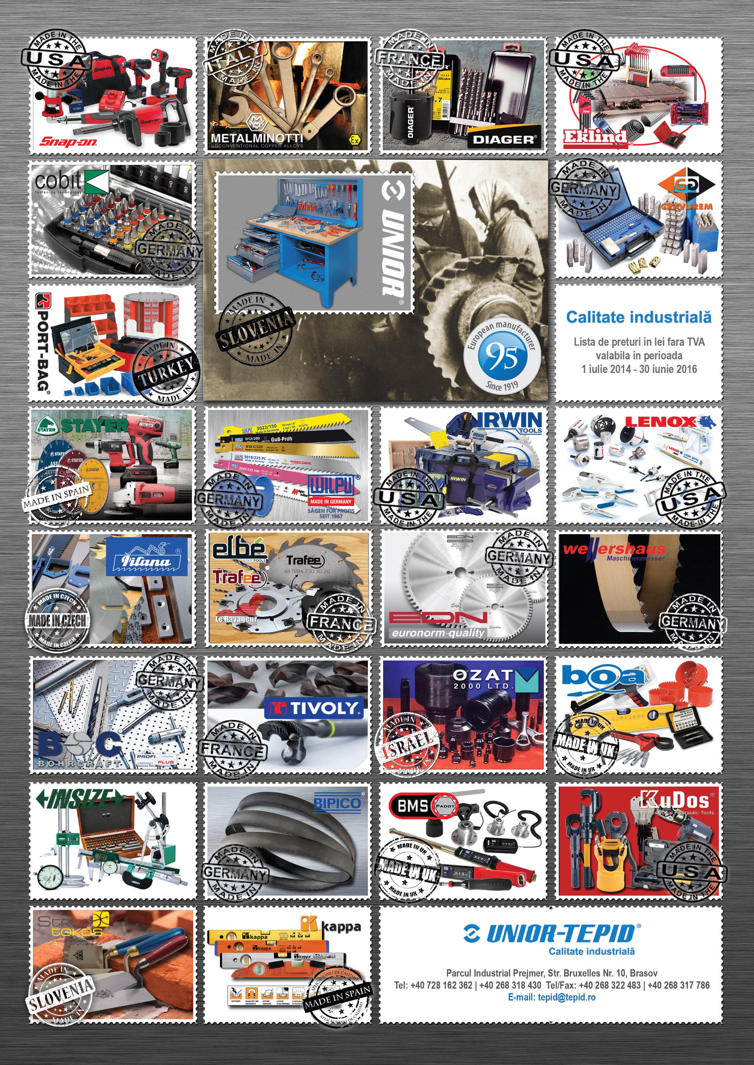 Catalog Unior Tepid 2014-2016