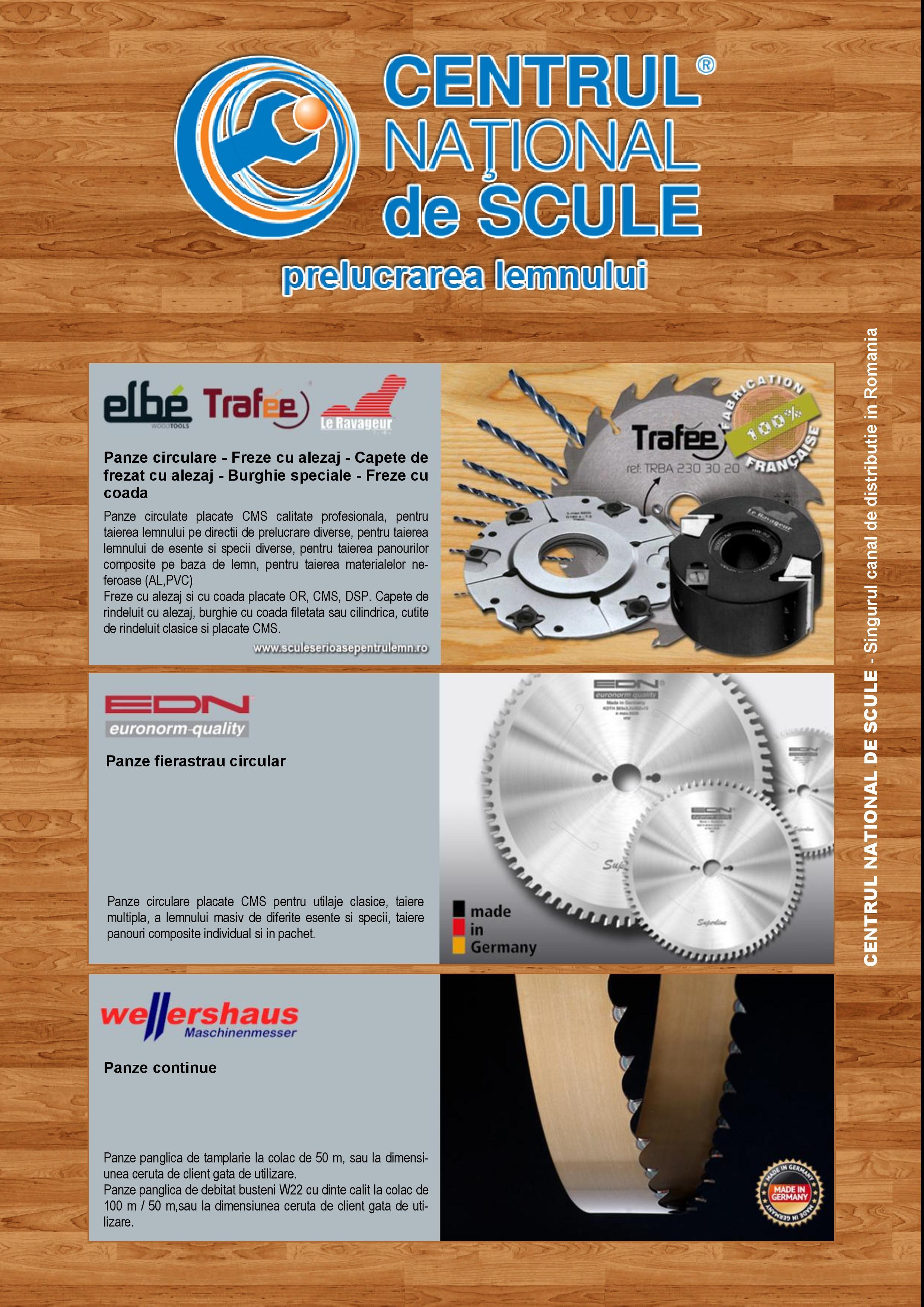 Brosura CNS- Prezentare branduri lemn