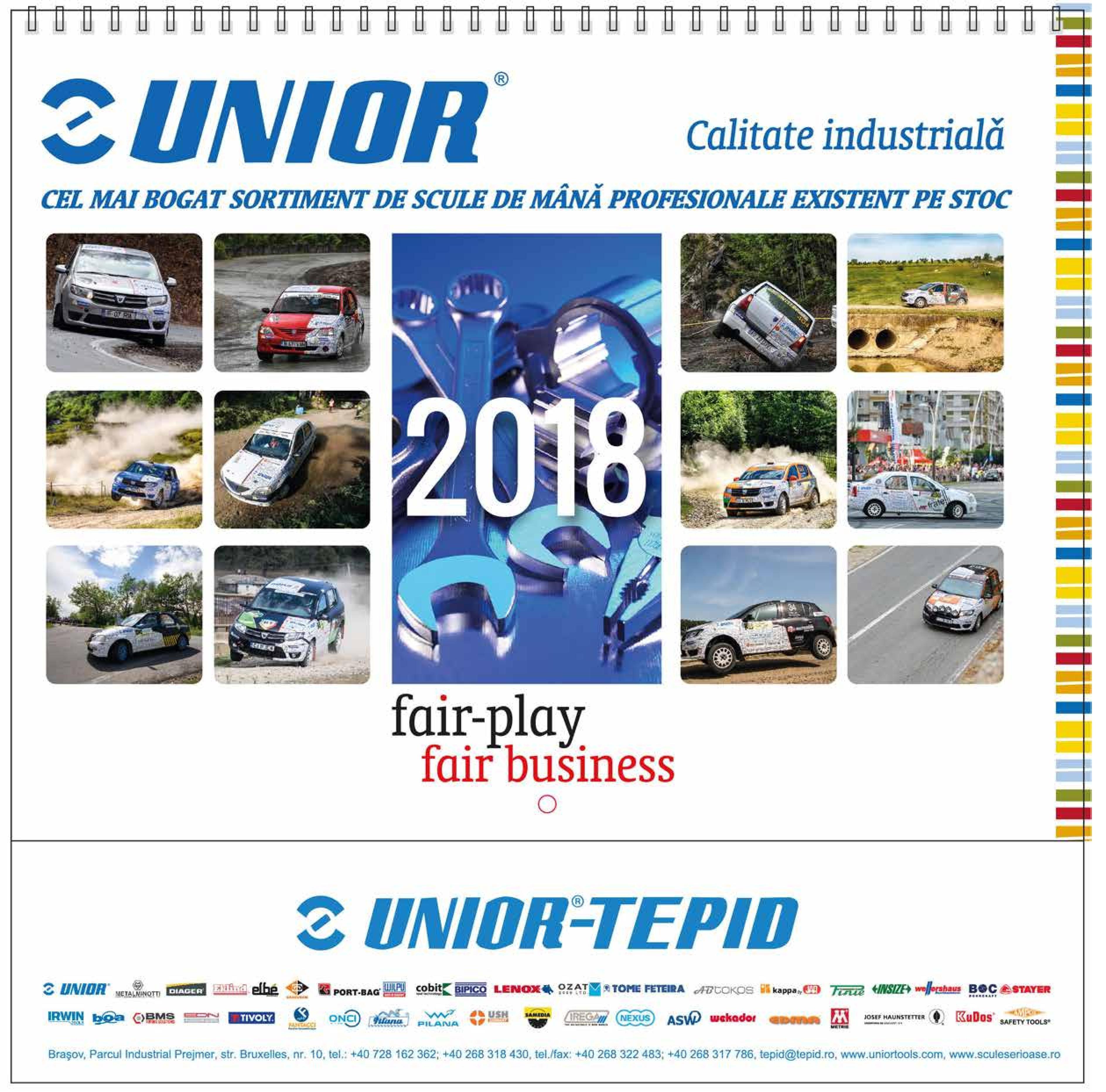 Calendare Unior 2018 Fair Play-Fair Business