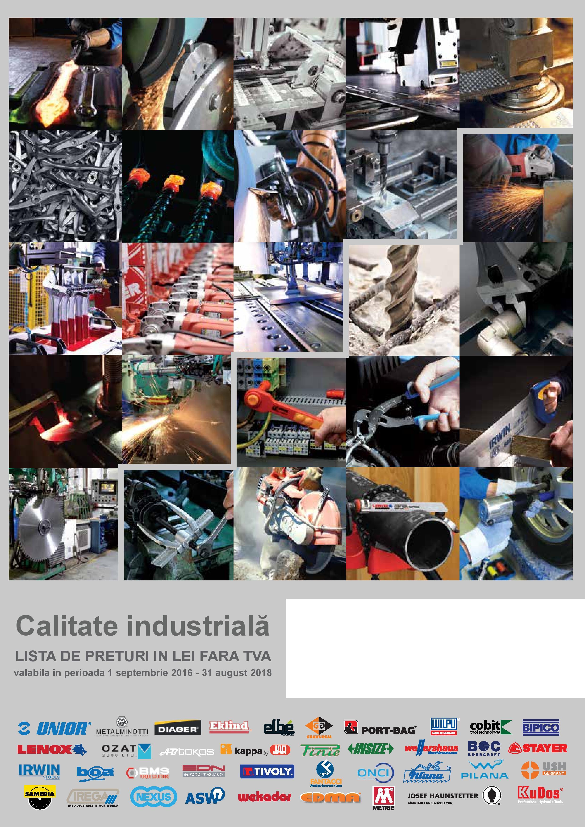 Catalog CNS UNIOR 2016 - 2018