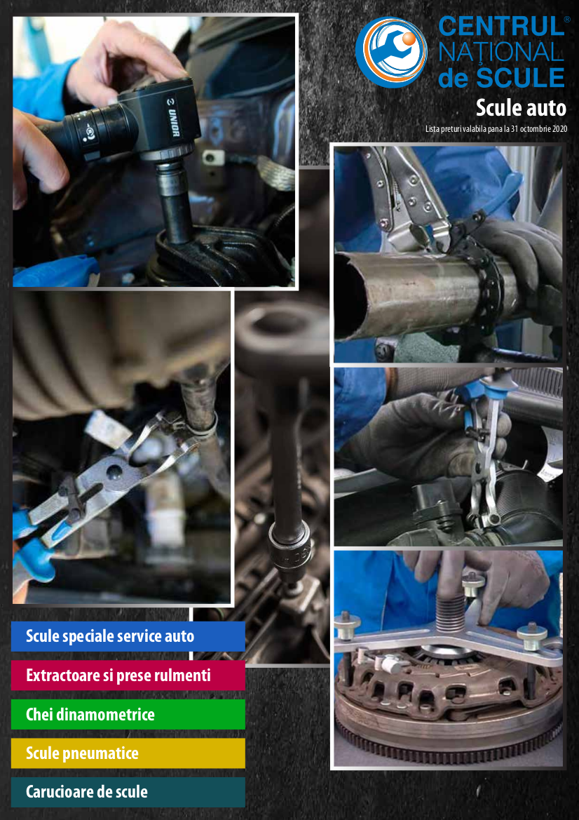 Catalog CNS INDUSTRIAL 2018-2020 - Scule auto