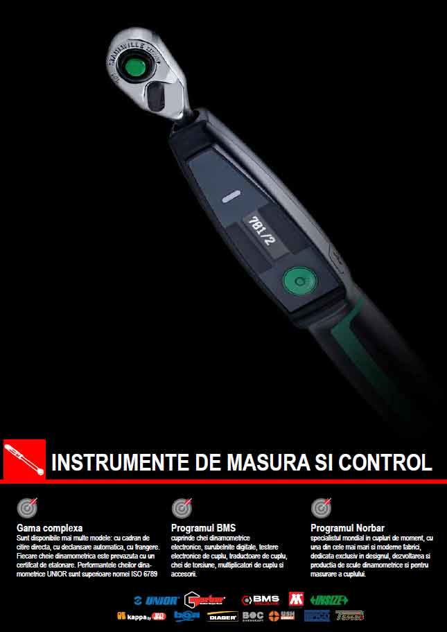 Catalog NOU - Instrumente de masura si control