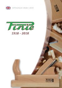 PINIE - Scule pentru tamplarie 2018-2019