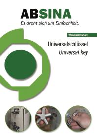 ABSINA - Chei universale pentru panouri