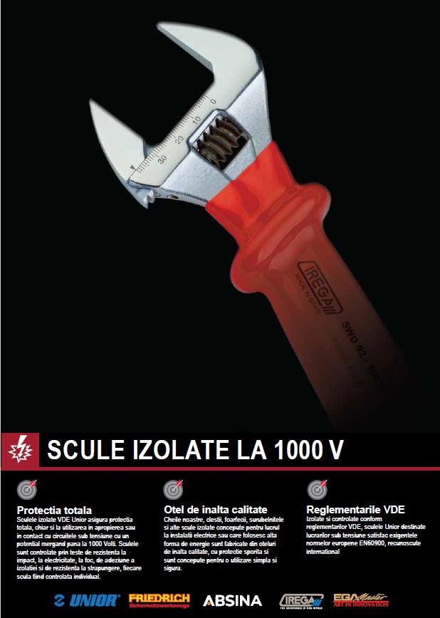 Catalog NOU- Scule izolate la 1000V