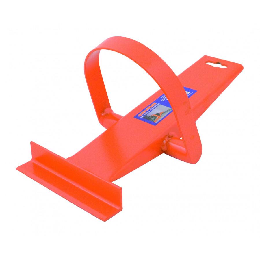 Dispozitiv cu actionare la picior pentru pozitionarea placilor de gips carton EDMA