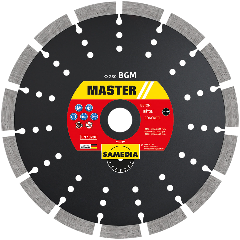 BGM Disc diamantat 230x22.23 15Seg 43.4x2.6x10.0+3.0