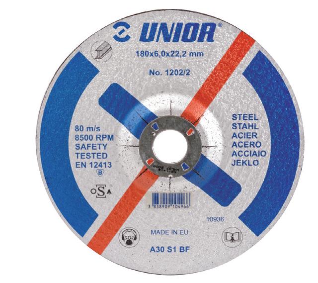 Disc polizare pentru otel 230x6x22