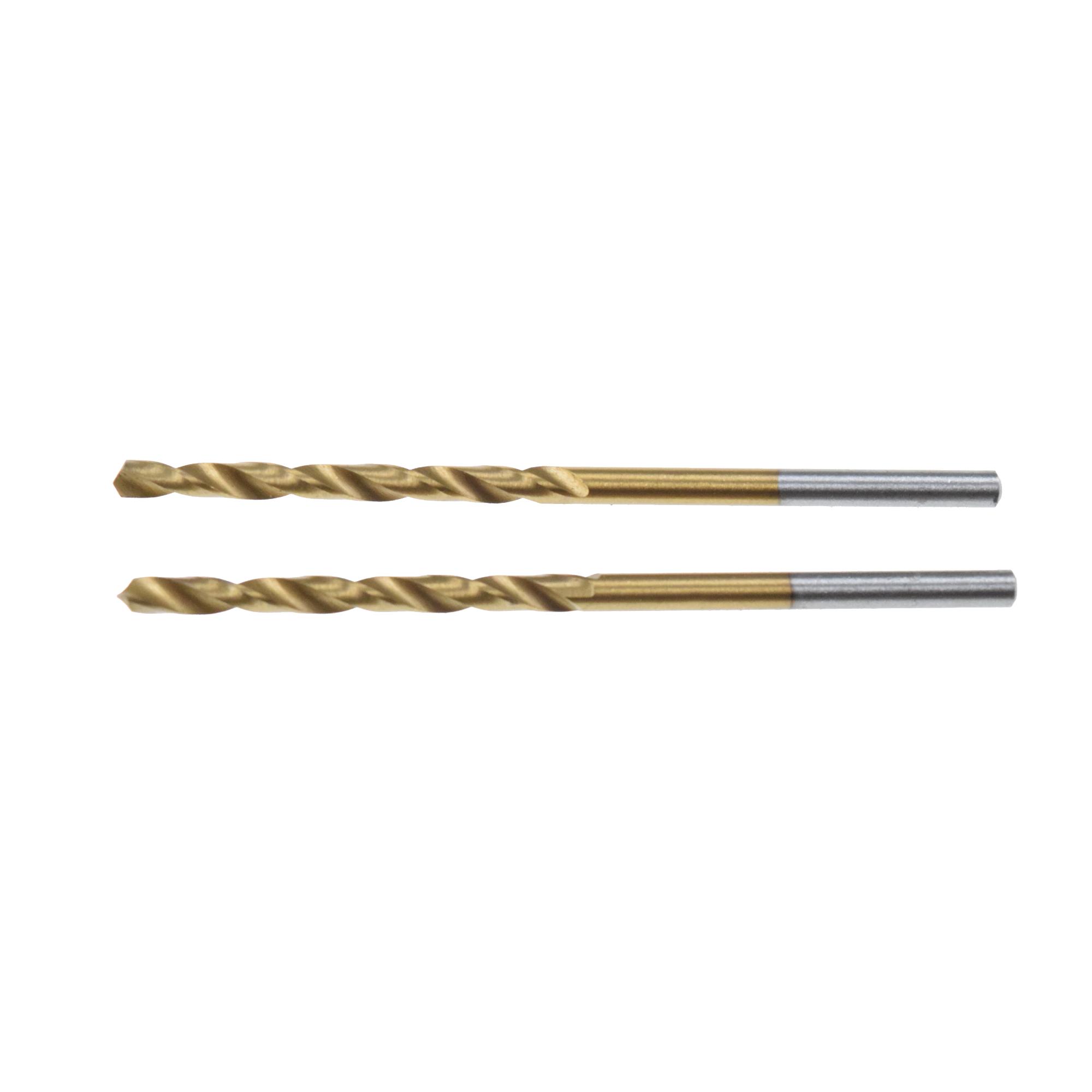 Set 2 bucati burghie pentru metal HSS Titan marca Irwin de 1 x 12 x 34 mm